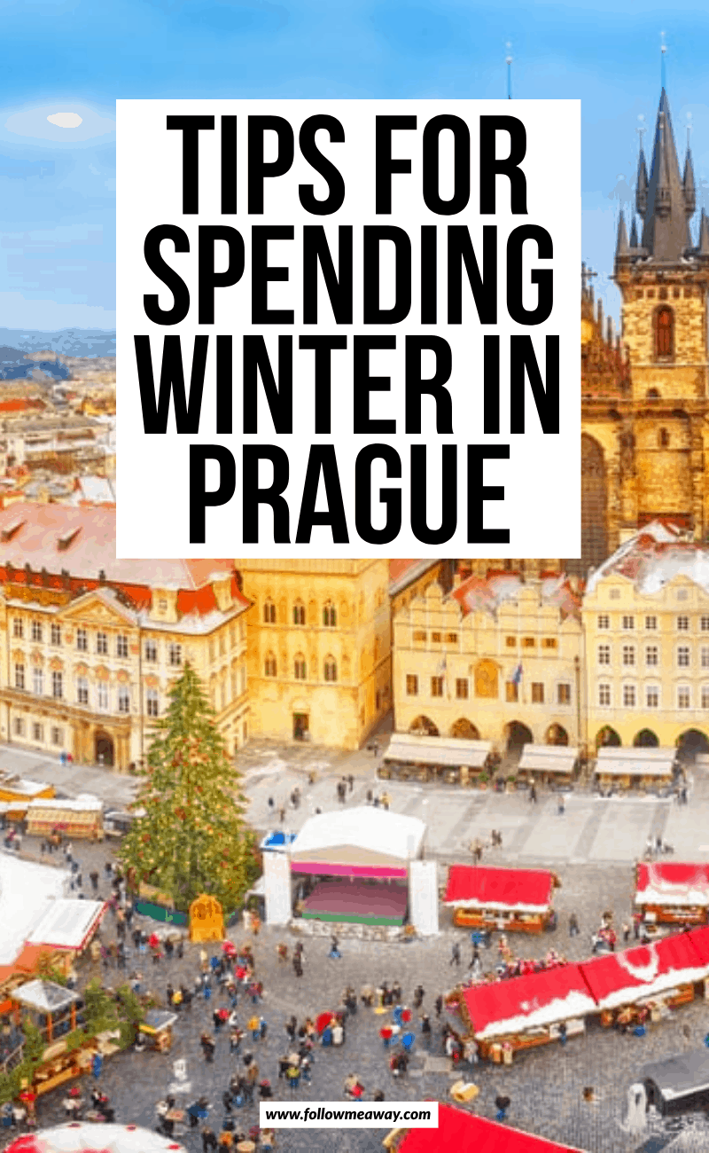 tips for spending winter in prague