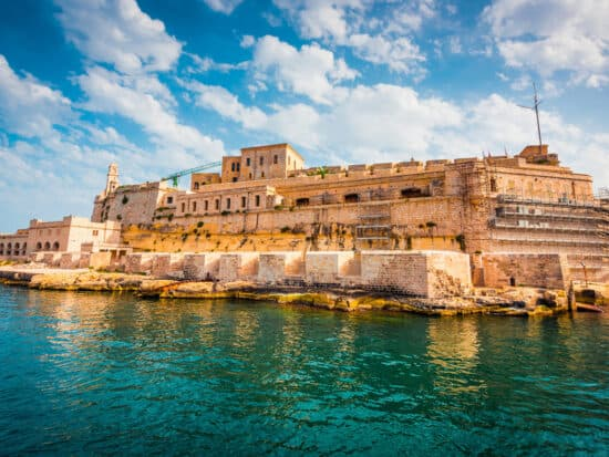 Birgu is one of the three cities and where to stay in Malta for maritime history