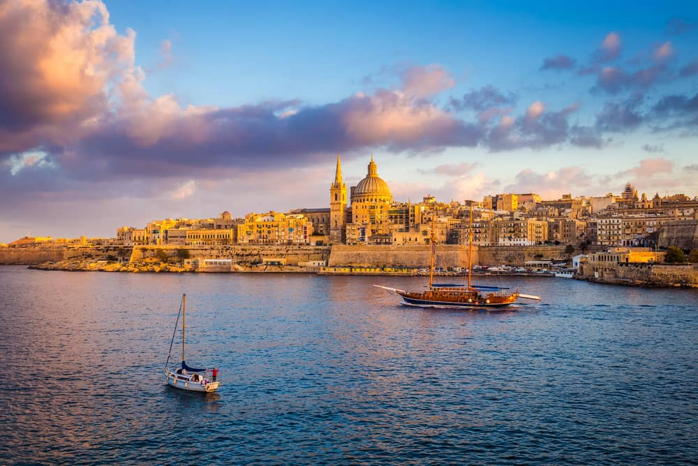 Valetta is where to stay in Malta for history and is the capital