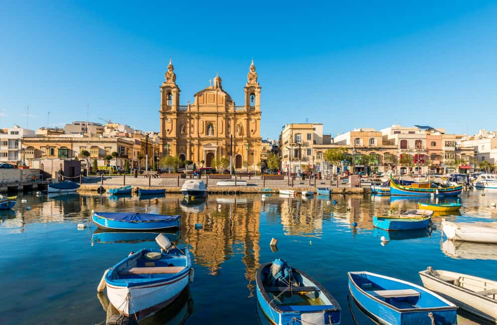 where to stay in Malta for the best location is Sliema