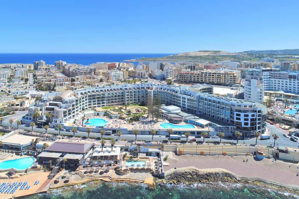 Where to Stay in Malta for Luxurious Accommodations is the Dolmen Hotel Malta in Saint Pauls Bay