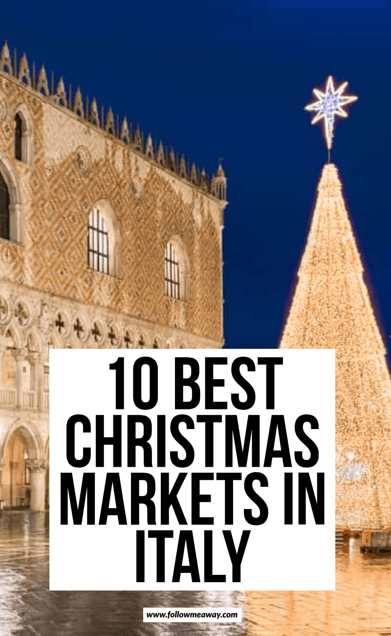 10 best christmas markets in italy