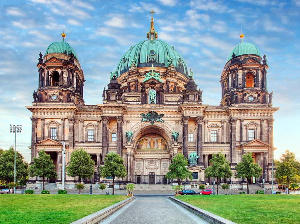 the Berlin Cathedral during your 3 days in Berlin
