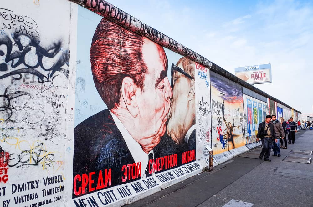 the East Side Gallery during your 3 days in Berlin