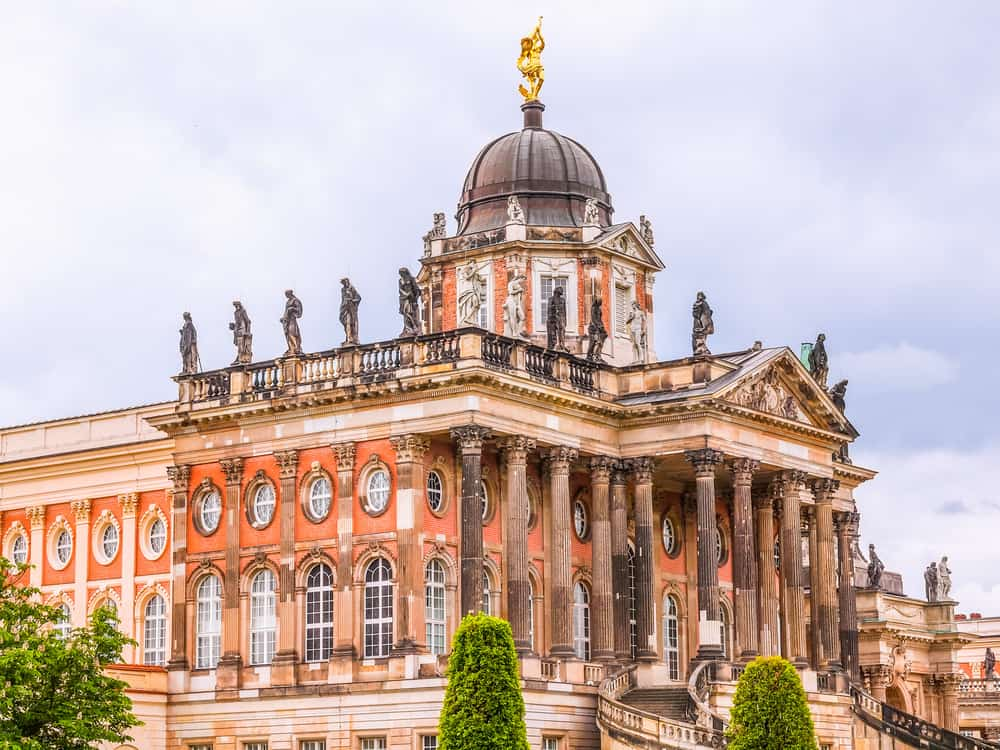 the Neues Palace in Potsdam during your 3 days in Berlin