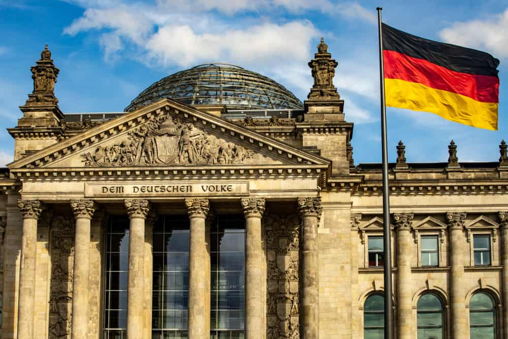 a partial view of the Reichstag building during your 3 days in Berlin