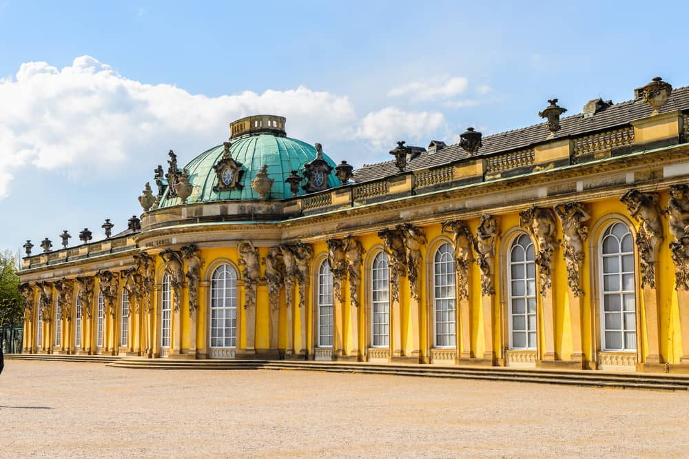 the Sanssouci Palace in Potsdam during your 3 days in Berlin