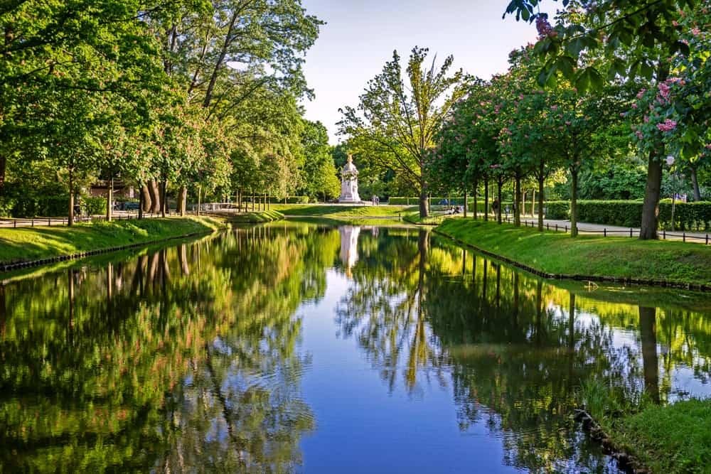 the Tiergarten during your 3 days in Berlin