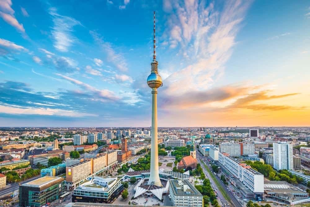 the TV Tower during your 3 days in Berlin