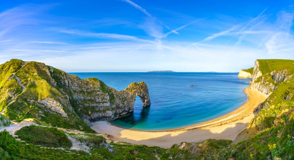 Dorset is a beautiful coastal area on your UK road trip