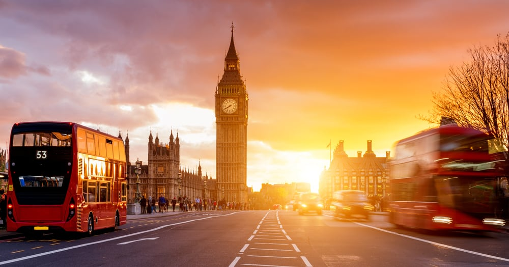 London is the first city on your UK road trip itinerary