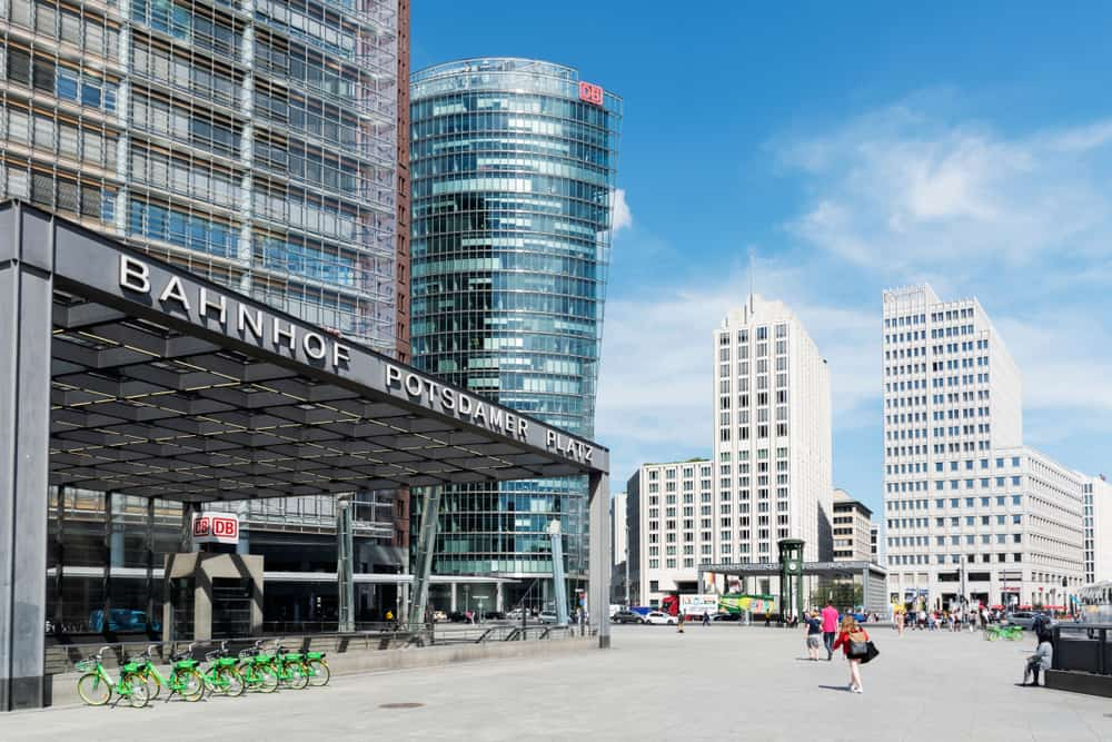The Potsdamer Platz neighborhood is a huge city!