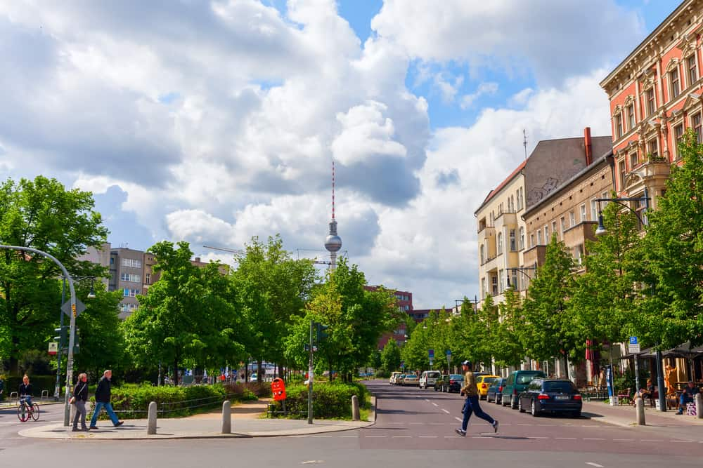 A street view of Prenzlauer Berg