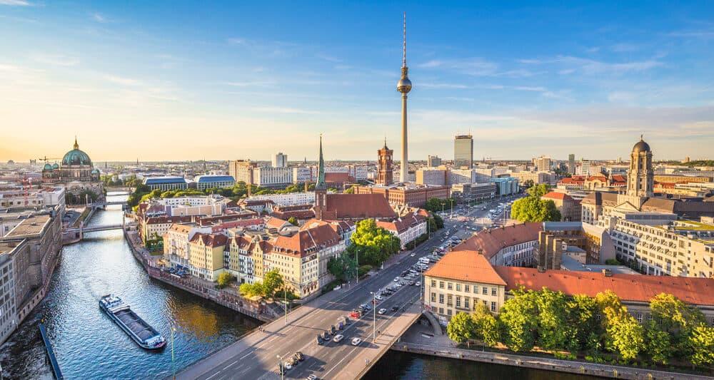 An Ariel View of Berlin