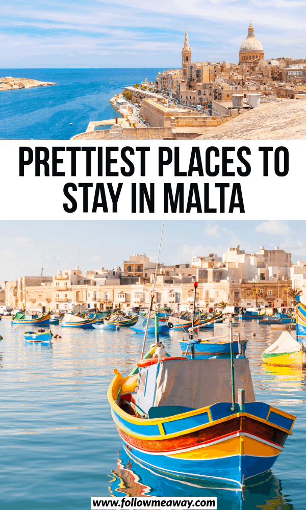 prettiest places to stay in malta