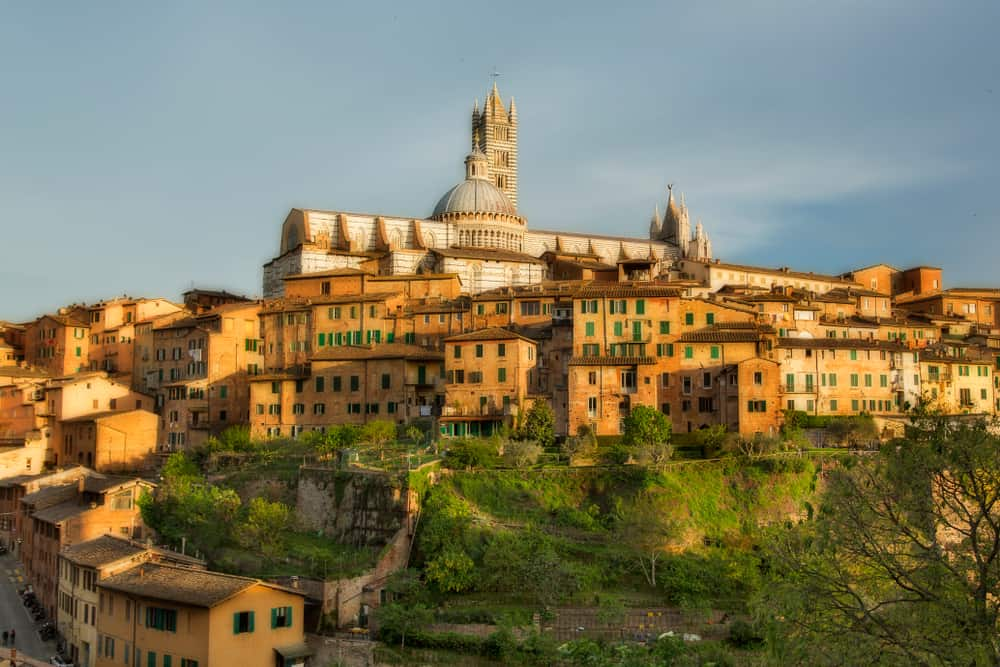 Photo of Siena, a fantastic option when considering where to stay in Tuscany