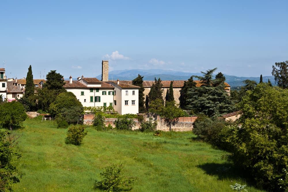 Photo of Arezzo landscape.