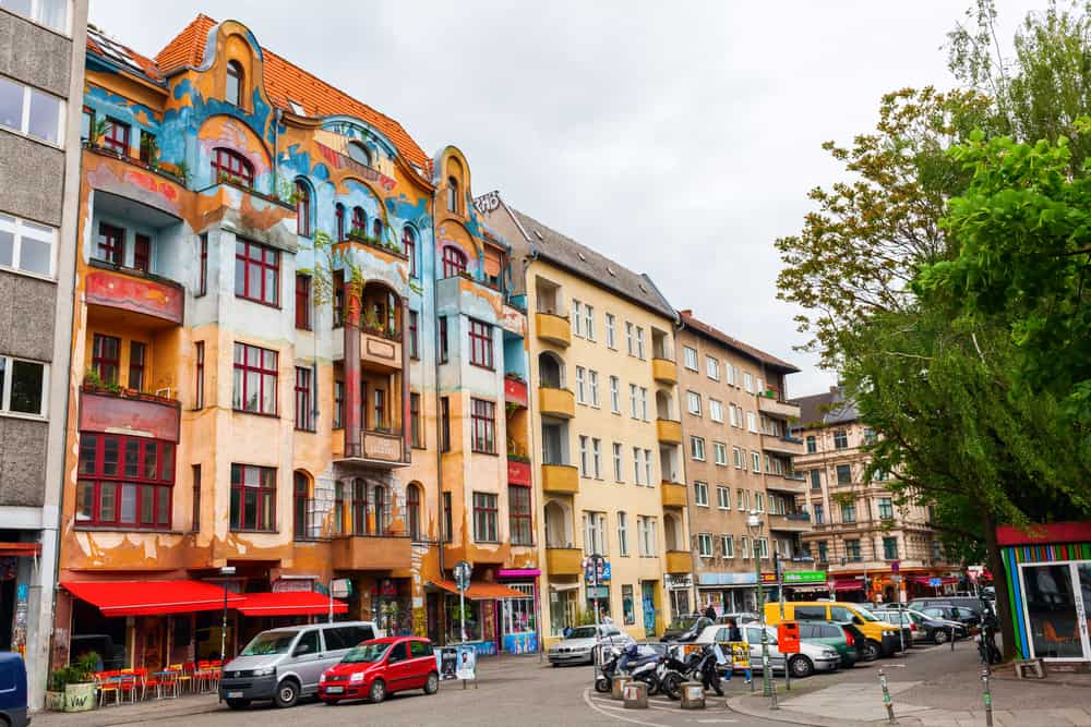 Kreuzberg is a diverse and cultured neighborhood!
