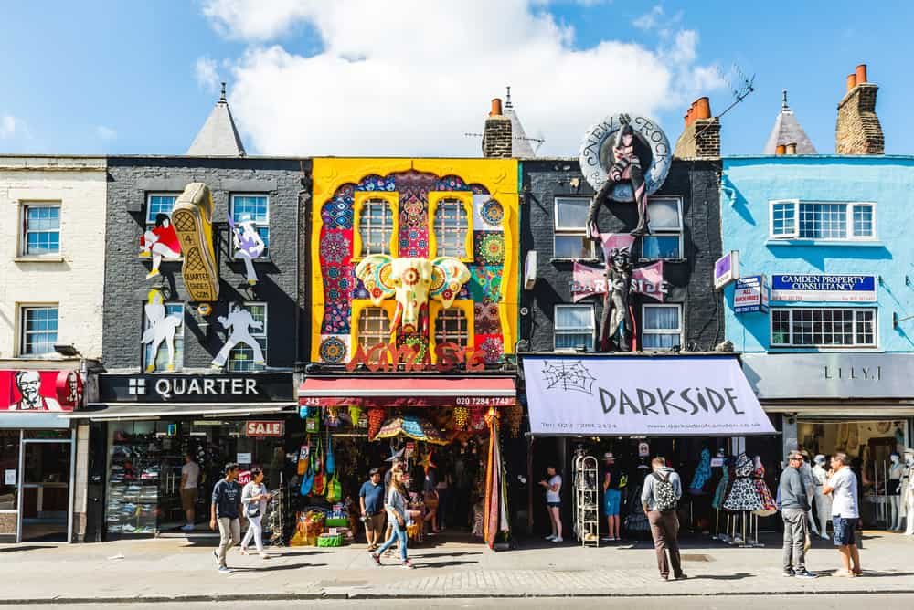 Camden Town is wonderful for experience culture and an alternative vibe