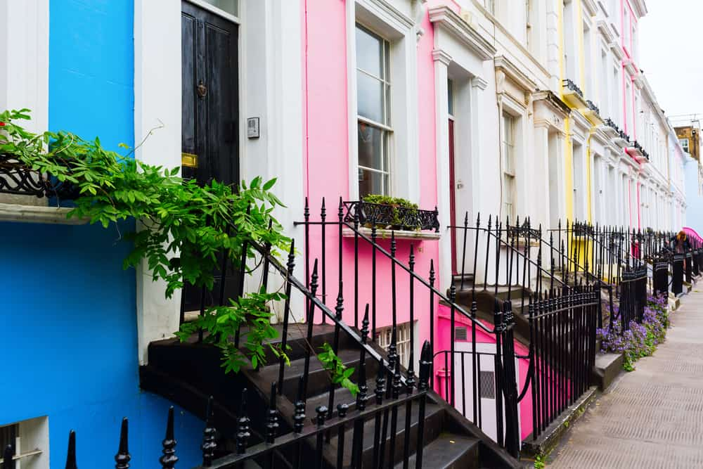 Notting Hill is fun and vibrant but can also be far away and pricey.