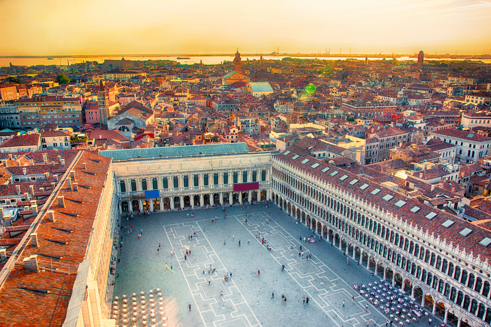 2 Days in Venice is ample time to go visit the iconic St. Mark's Square