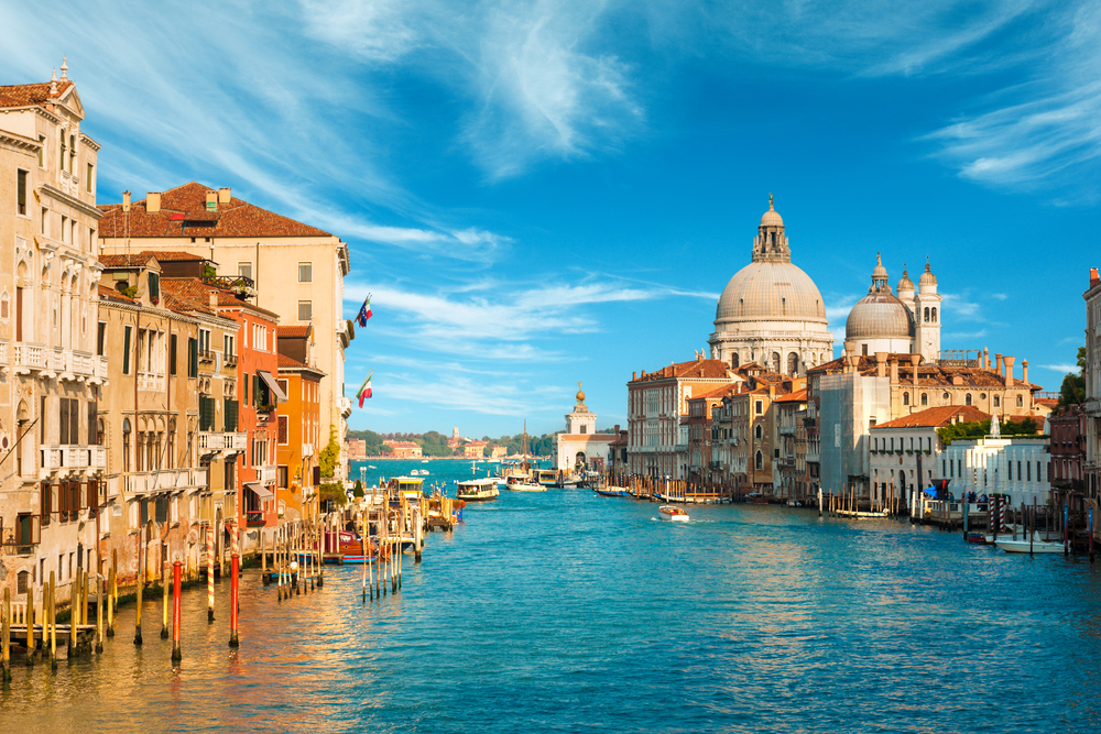 Venice is a romantic destination and you should check it out if you get the chance!