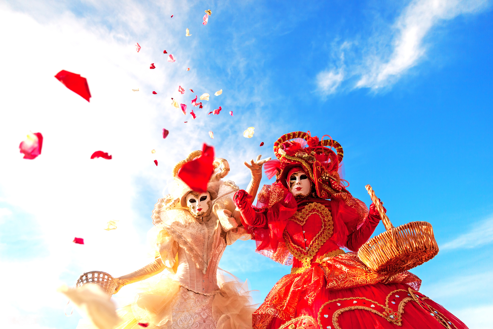 If visiting in the spring, you must check out the Venice carnivals!
