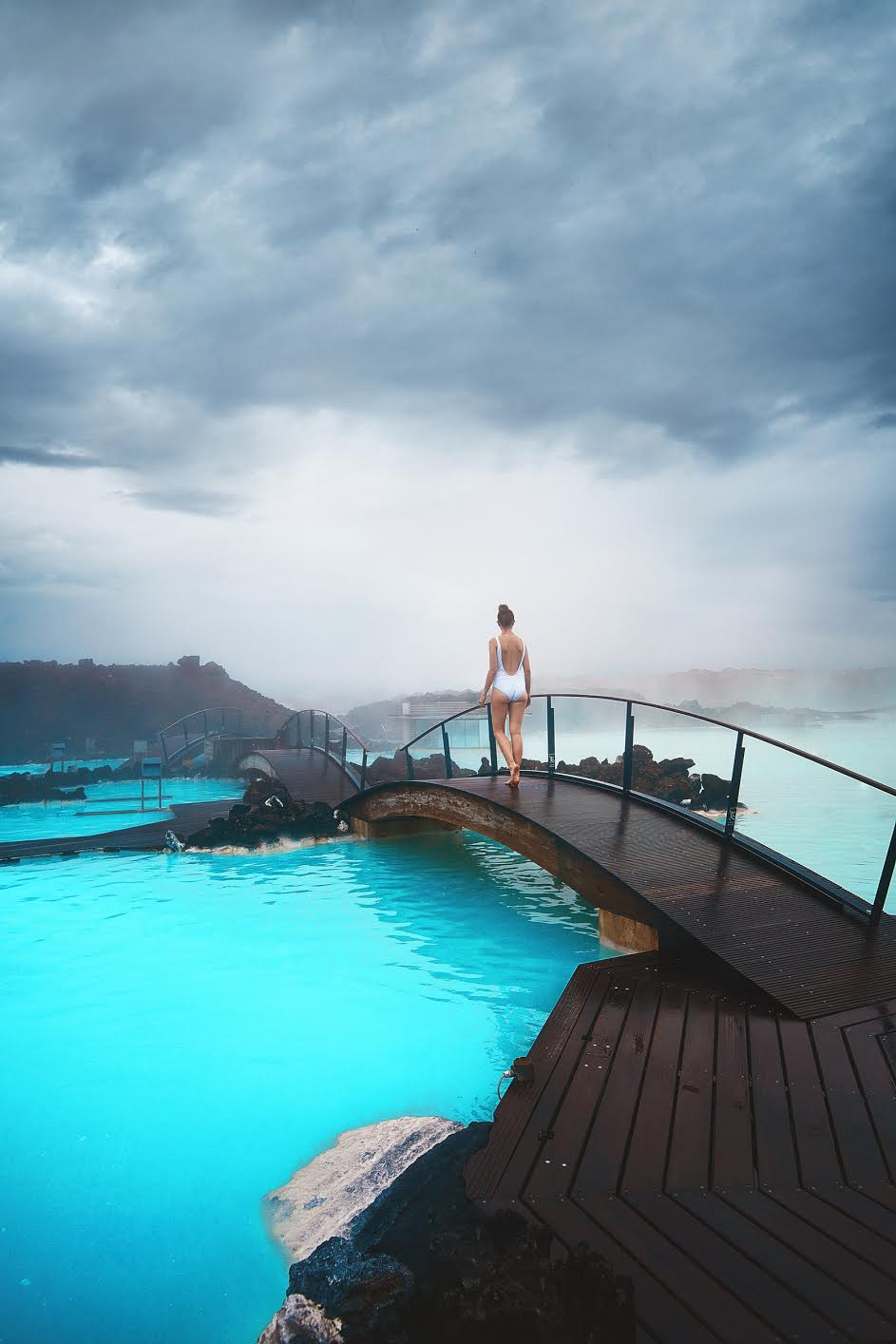 The Blue Lagoon during your 4 days in Iceland