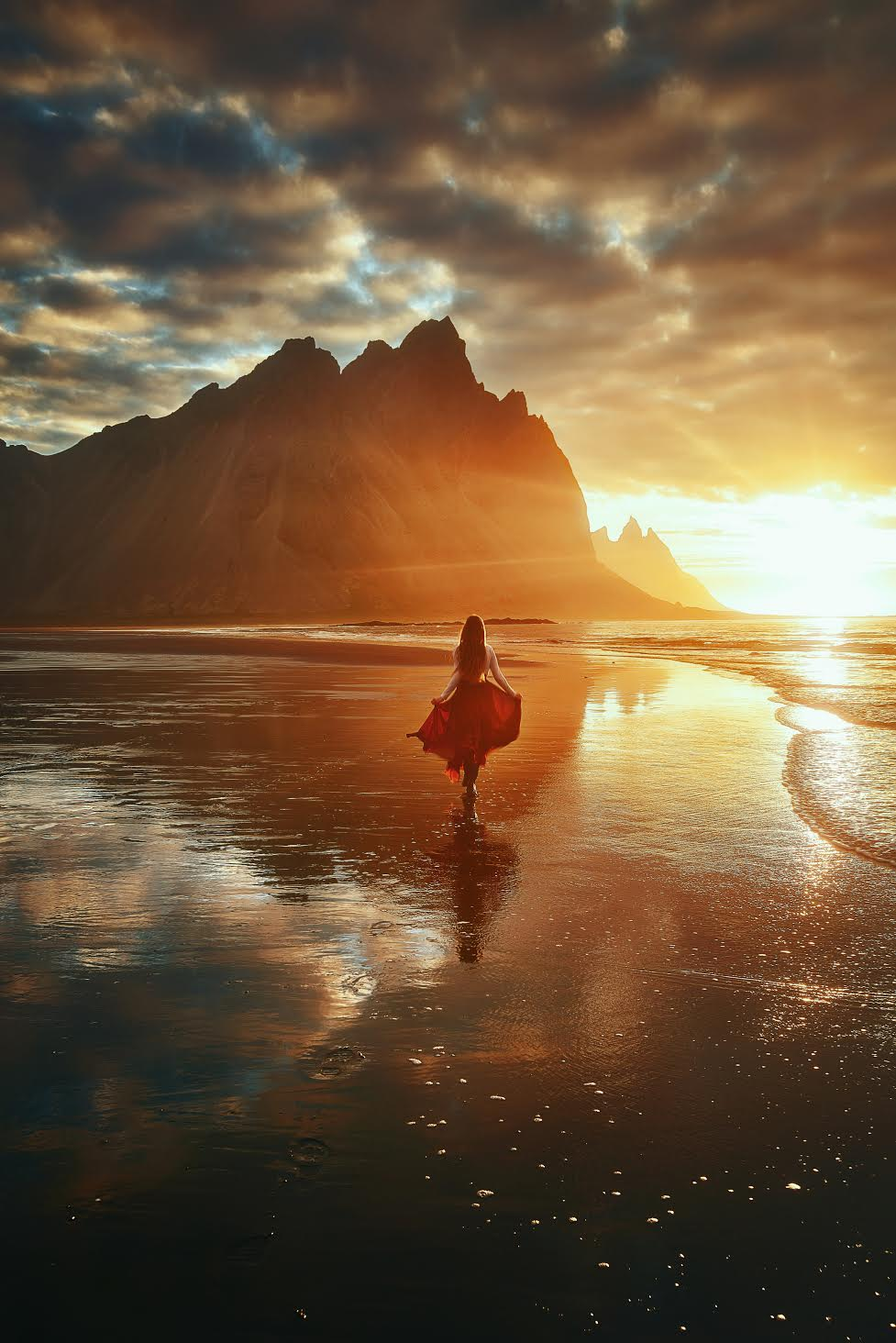 Vestrahorn at Stokksnes Peninsula during your 4 days in Iceland
