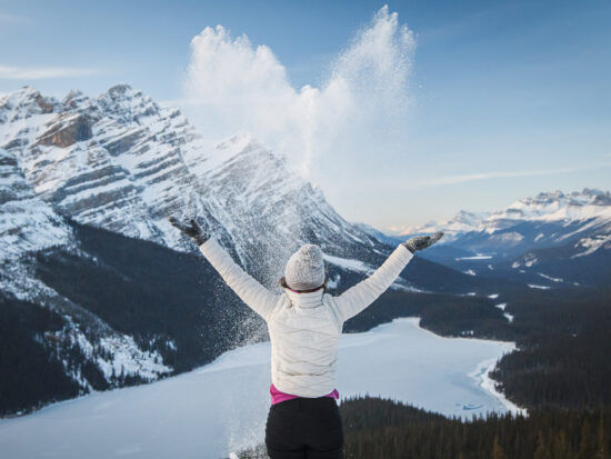 Banff in winter is a winter wonderland!