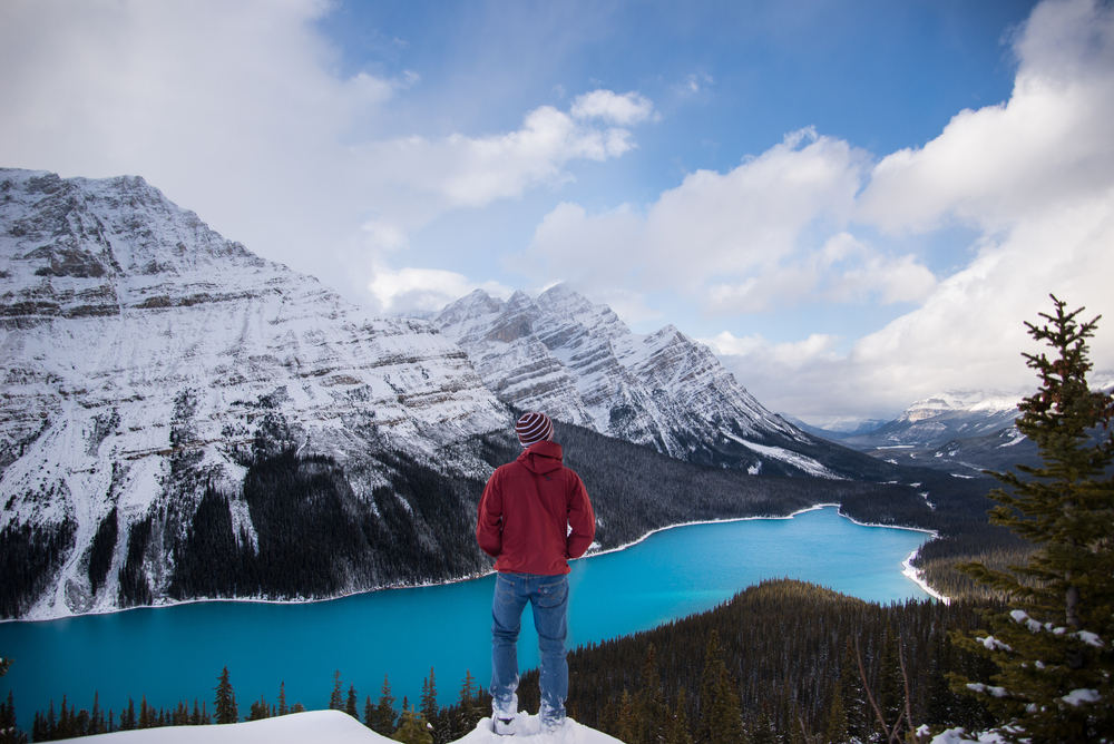 Banff winter's are cold, so pack appropriately!