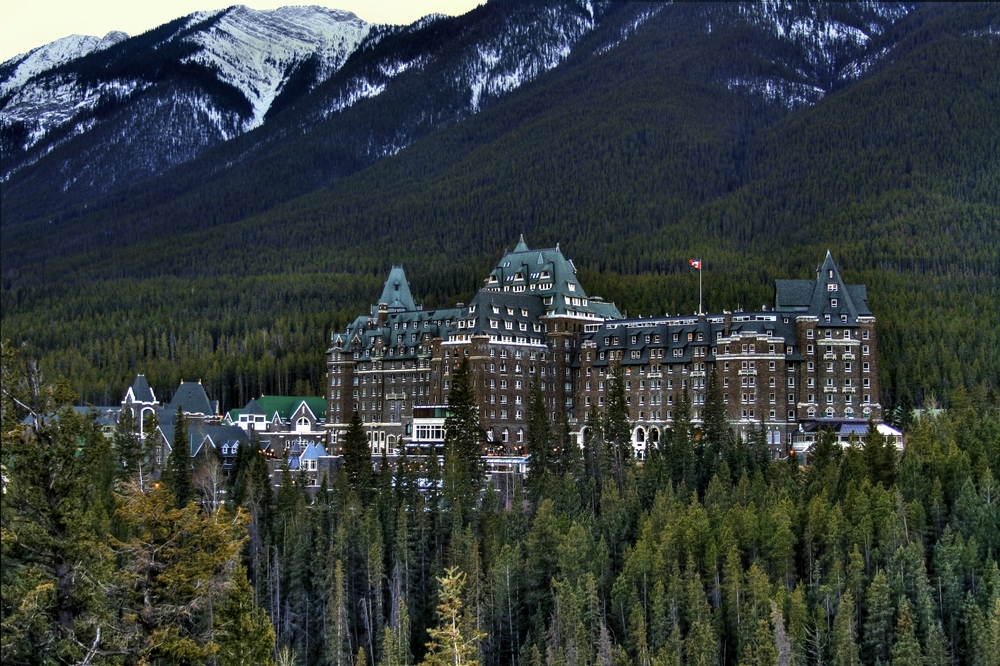 Banff is also known for having some haunted hotels!