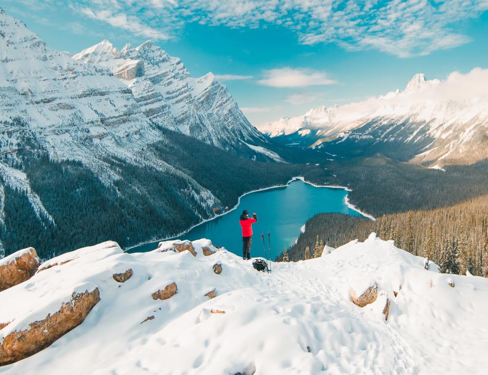 Banff in Winter is a beautiful destination!