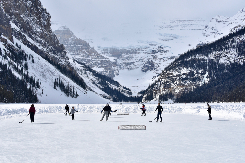 Winter activities are a must in Banff!