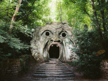 Bomarzo is home to the monster caves, a must see on your Italian itinerary!