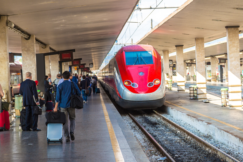 High speed trains are your fastest way to get to Venice from Florence