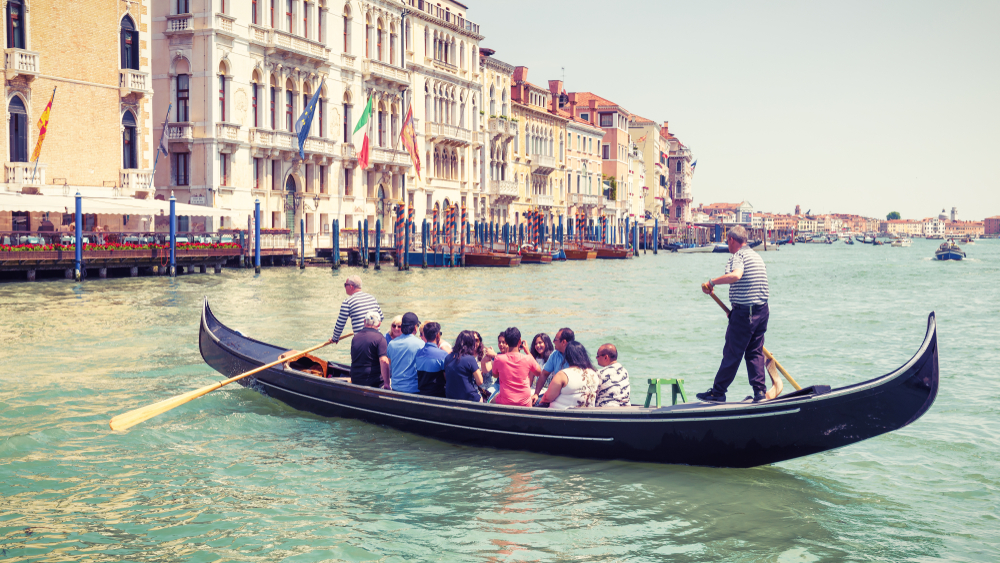 Tours can also take you from Florence to Venice