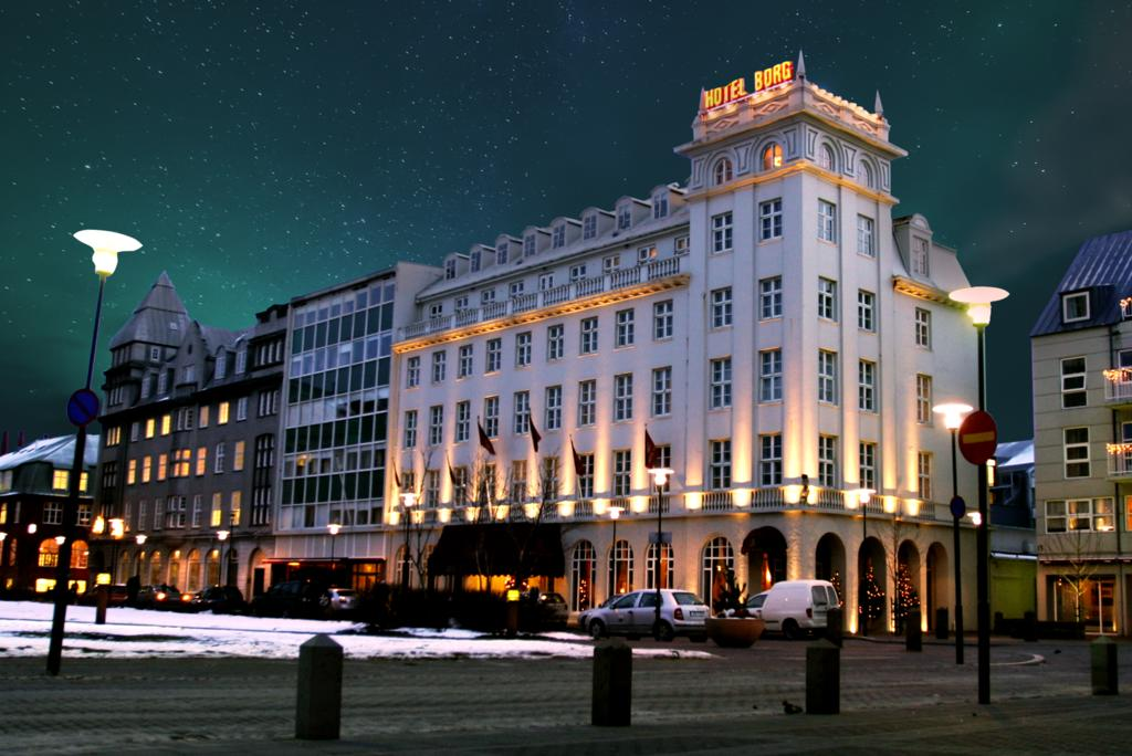 Photo of Hotel Borg, a great location for your Iceland Honeymoon