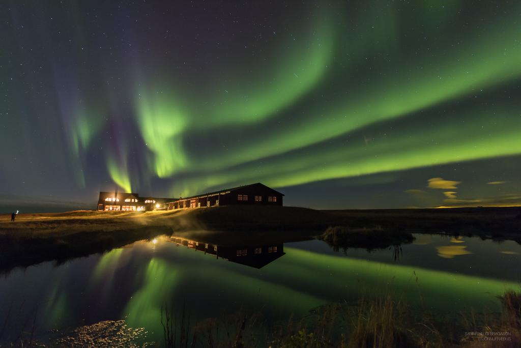 Photo of Hotel Ranga, the best Iceland Honeymoon location for seeing the Northern Lights