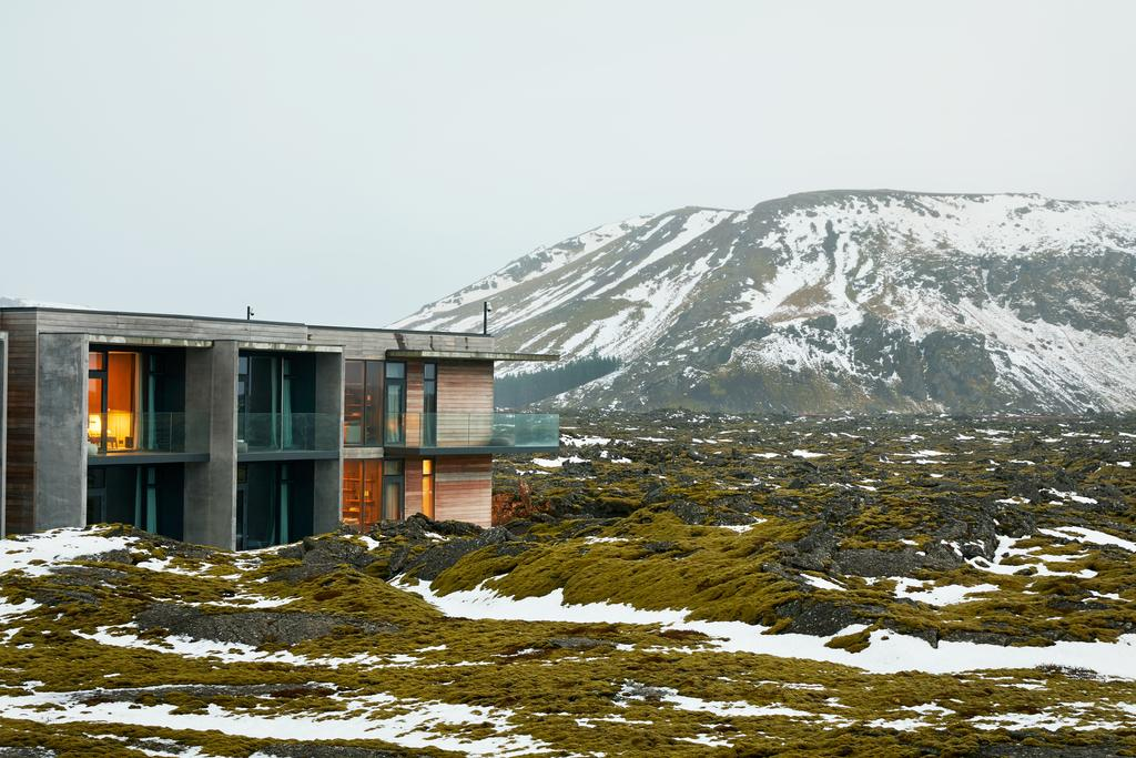 Photo of The Retreat at Blue Lagoon, a stunning Iceland honeymoon location.