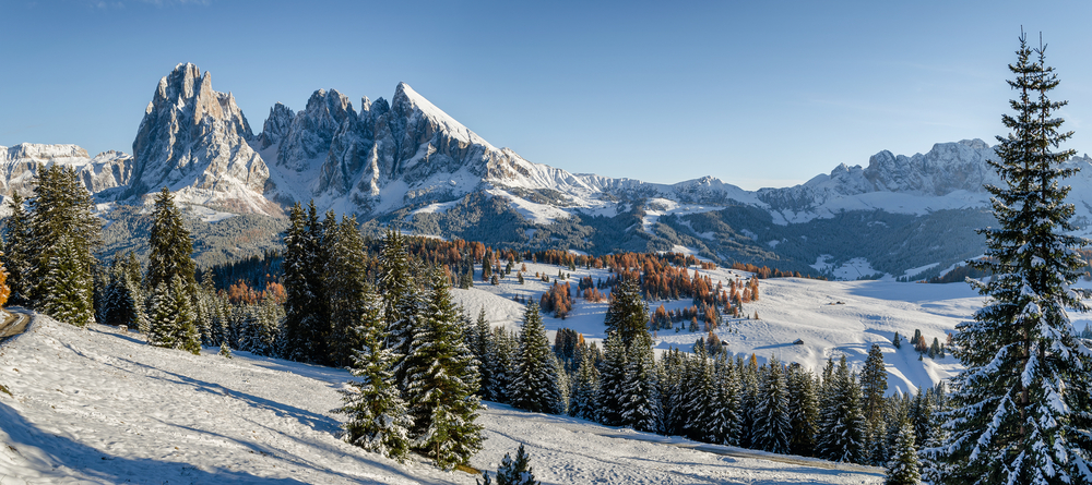 snow topped mountains Northern Italy itinerary