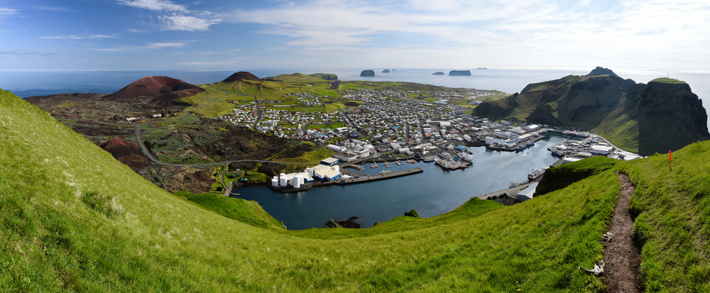 Heimaey is one of many amazing towns in Iceland