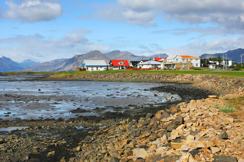 Hofn is another of the numerous quaint towns in Iceland