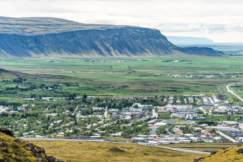 Hveragerdi is one of the towns in Iceland with extraordinary hot springs