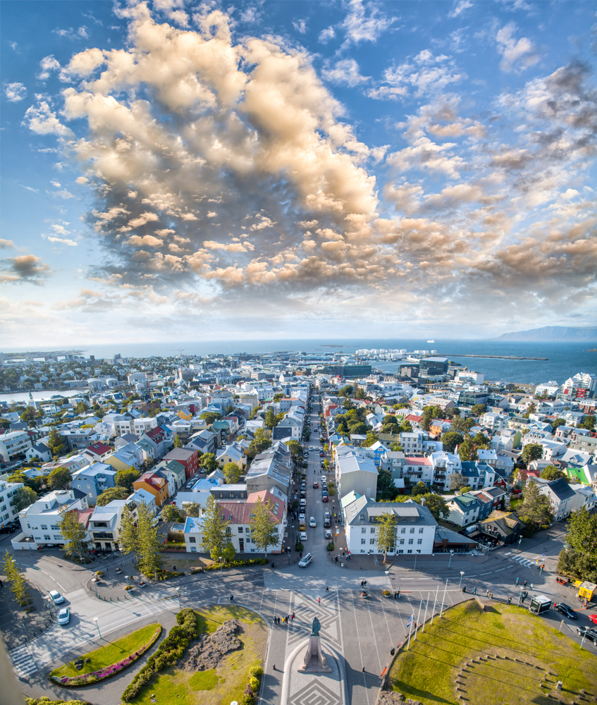 Reykjavik is one of the best towns in Iceland