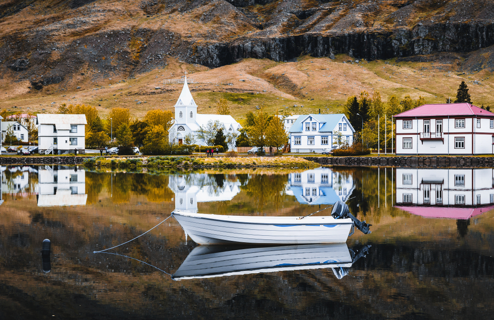 Seydisfjordur is an excellent example of how beautiful the towns in Iceland are!