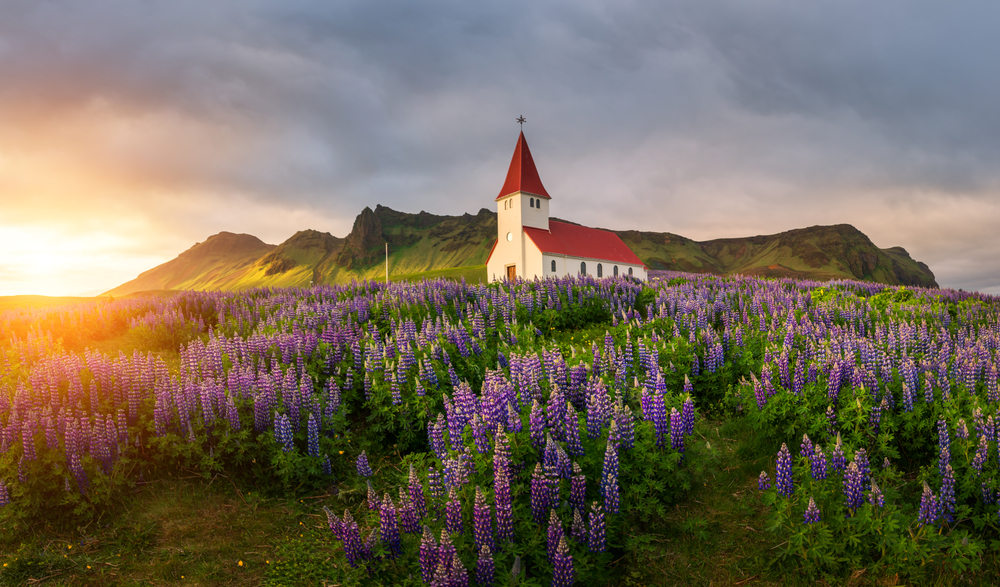 Vik is one of the most prettiest towns in Iceland
