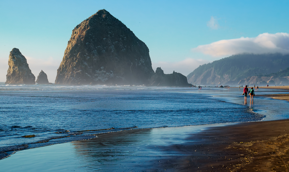views from Cannon Beach on your Oregon coast road trip
