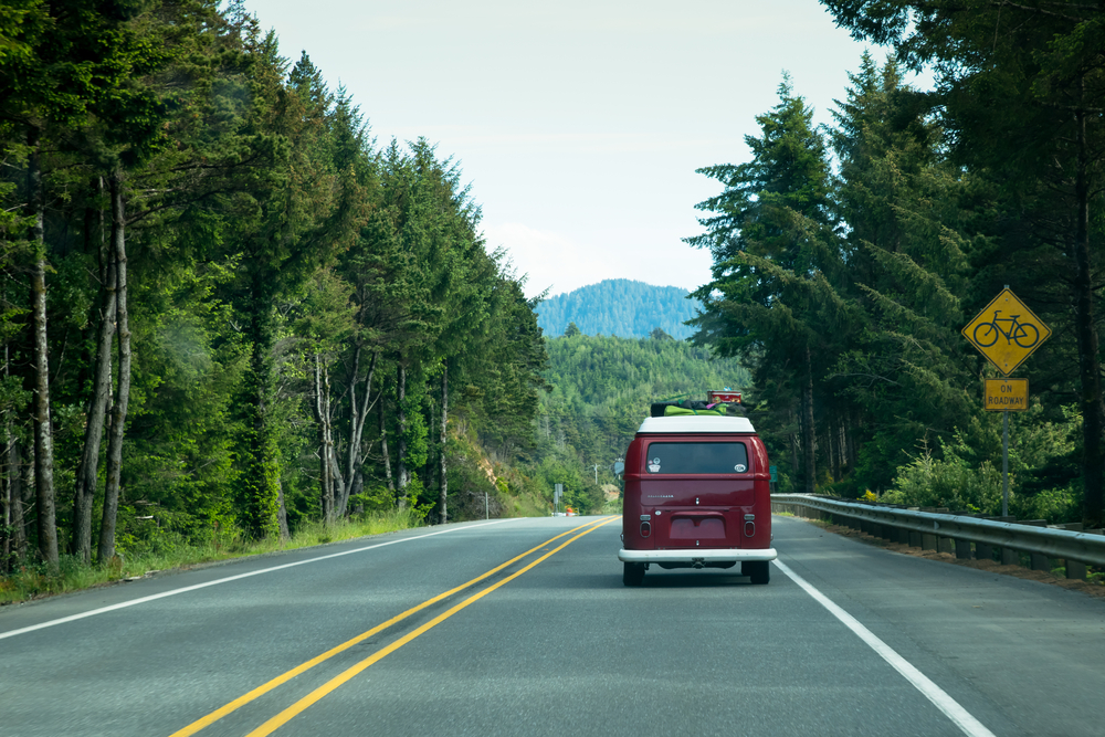 driving on your Oregon coast road trip