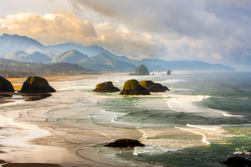 views from Ecola State Park on your Oregon coast road trip